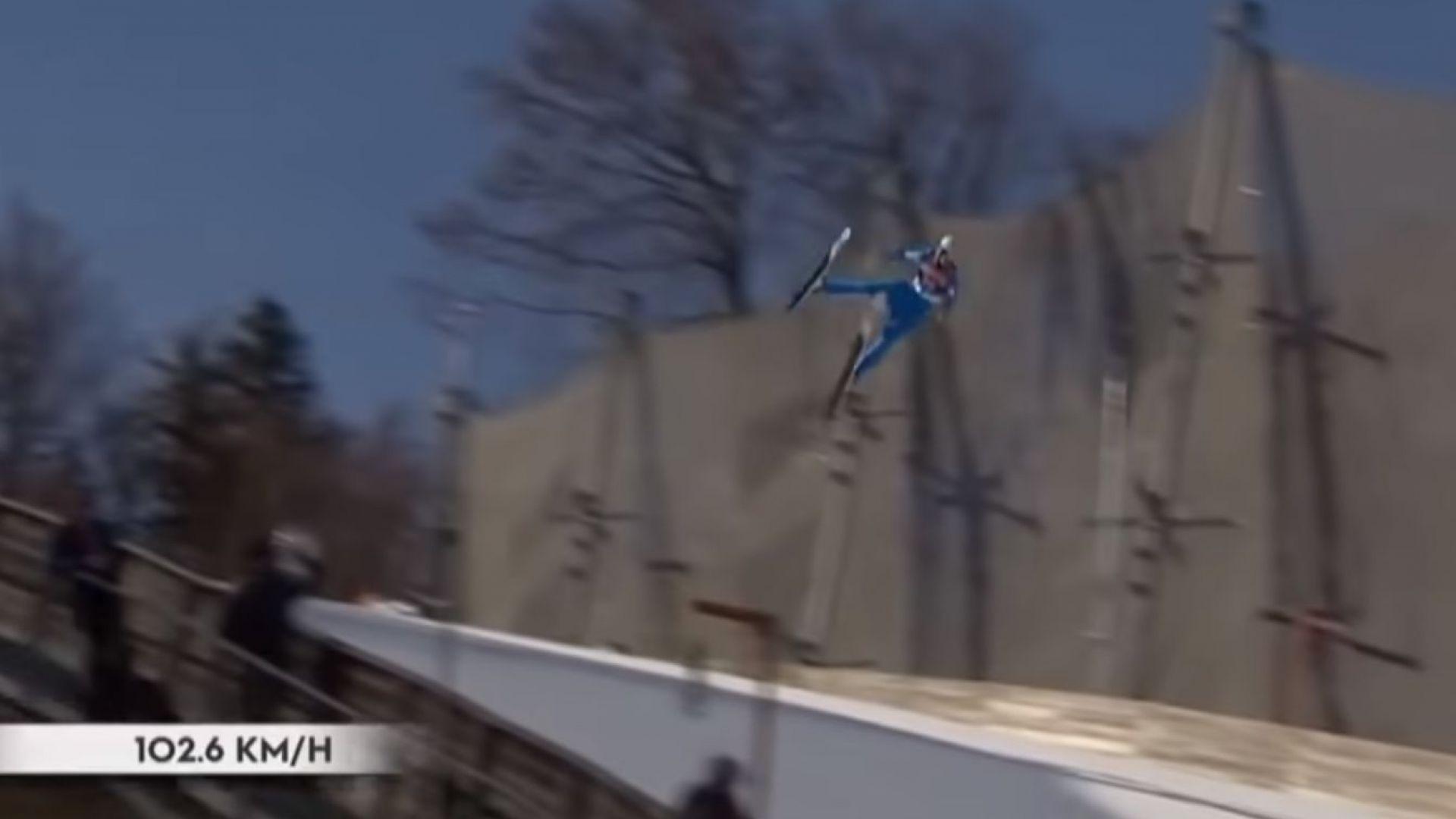 Олимпийският шампион Танде е в изкуствена кома след ужасяващото падане