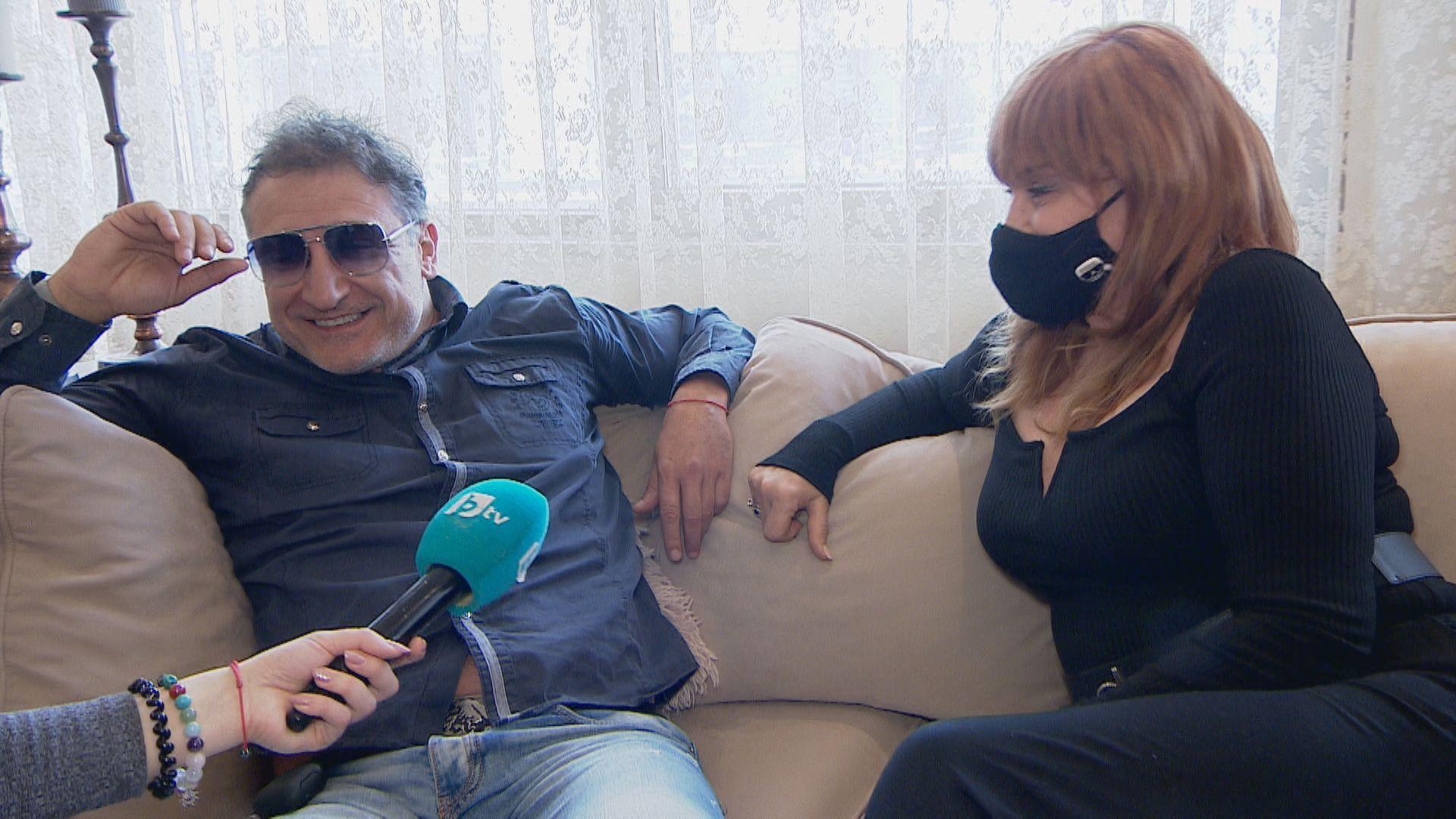 Аня Пенчева и Кирил Ефремов