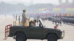 На фона на стотици загинали: Армията на Мианма отбелязва Деня на въоръжените сили