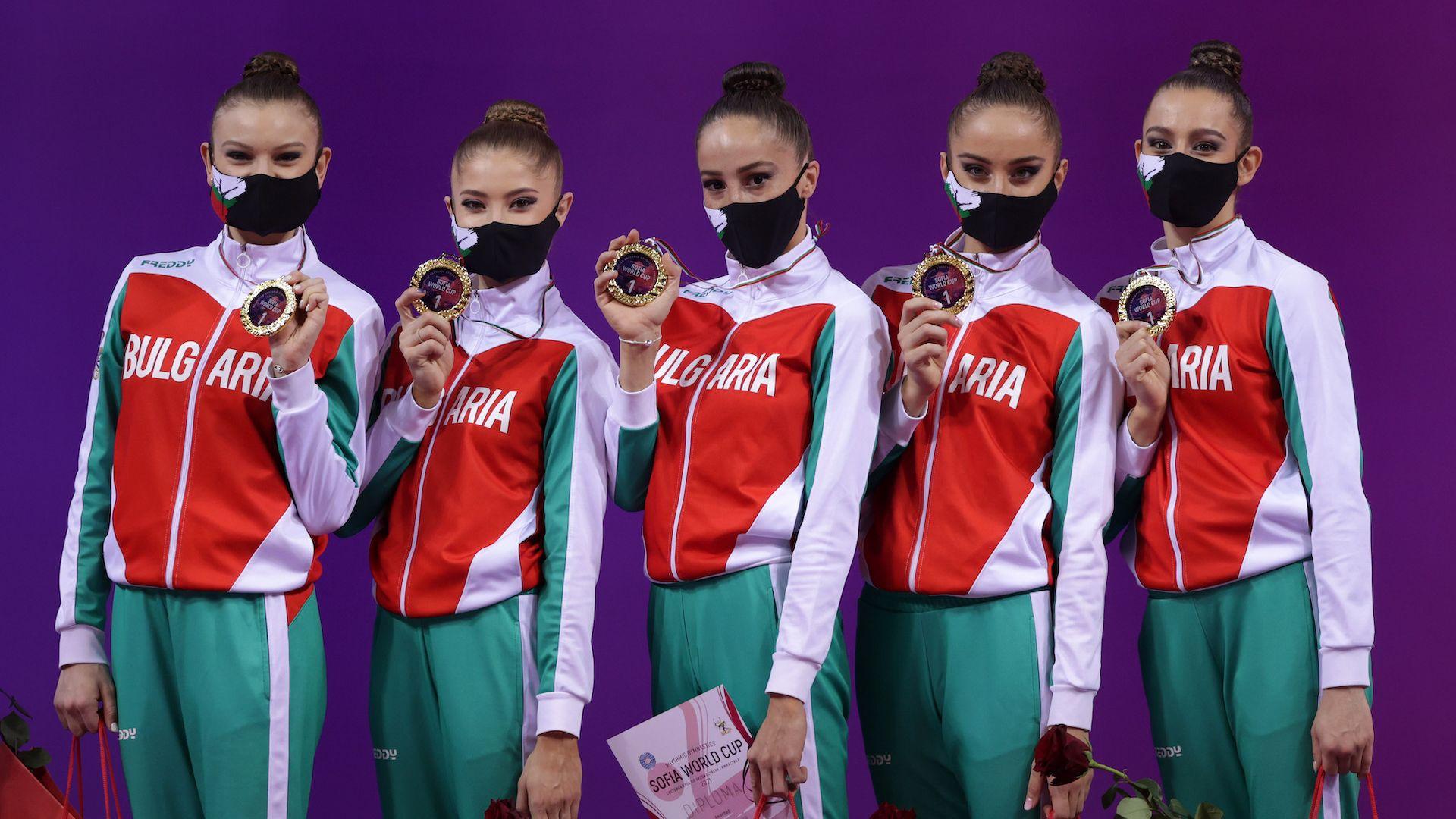 Ансамбълът на България с титла в многобоя, Боряна Калейн със сребро на Световната купа