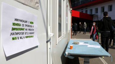 """""""Зелени коридори"""": На опашка за ваксина в """"Пирогов"""" и """"Александровска"""""""