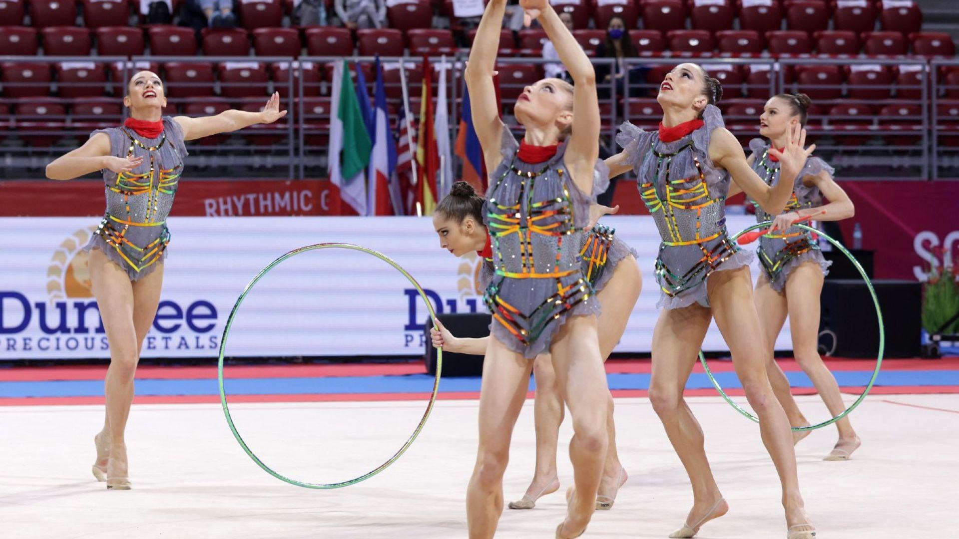 Нови четири медала за гимнастичките ни в Баку