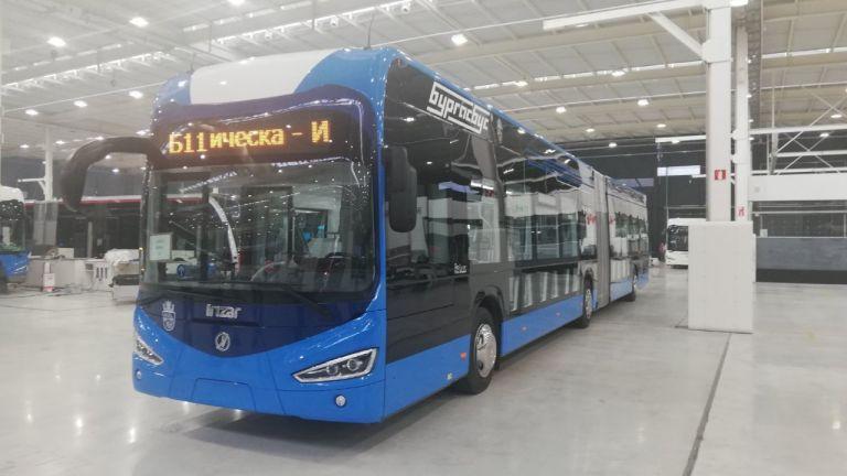 В Бургас ще бъдат доставени 34 нови електрически автобуса, които