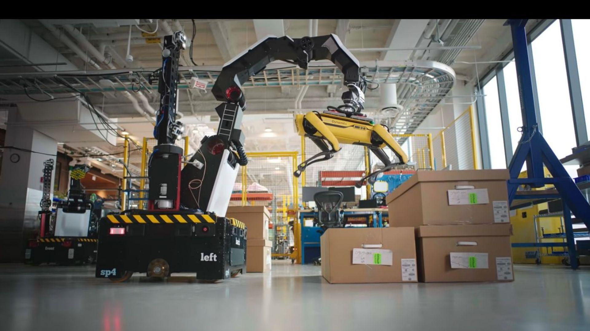 Създадоха робот-хамалин (видео)