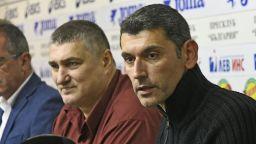 Президентът на волейболния ЦСКА ще извежда Хебър до титлата