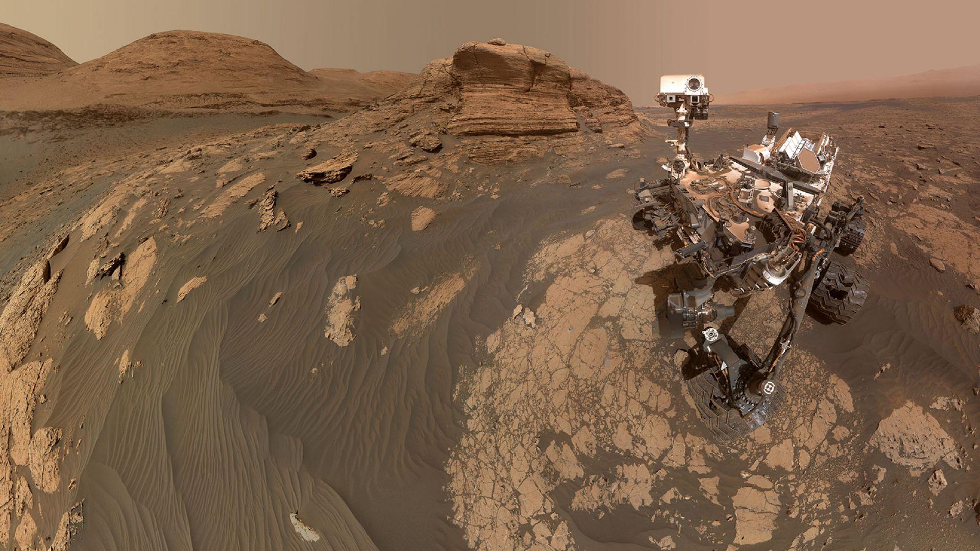 Дали откритият метан на Марс има биогенен произход?