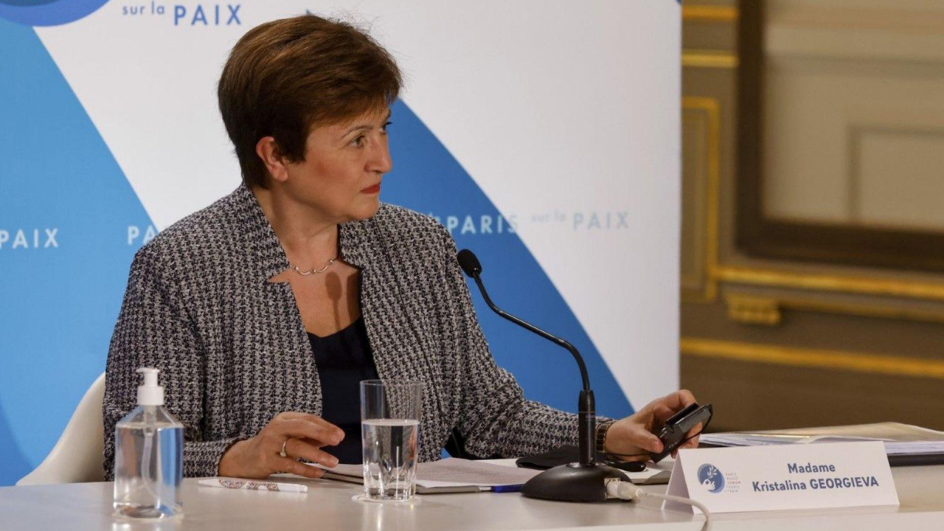 Кристалина Георгиева: Имам абсолютно доверие в цифрите от докладите на МВФ