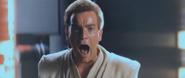"""Юън Макгрегър като Оби-Уан в """"Междузвездни войни"""""""