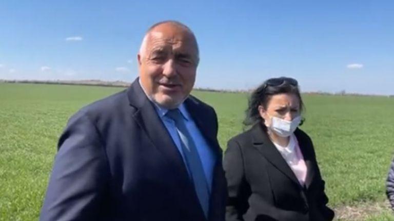 Министър-председателят на България Бойко Борисов е на поредна обиколка в