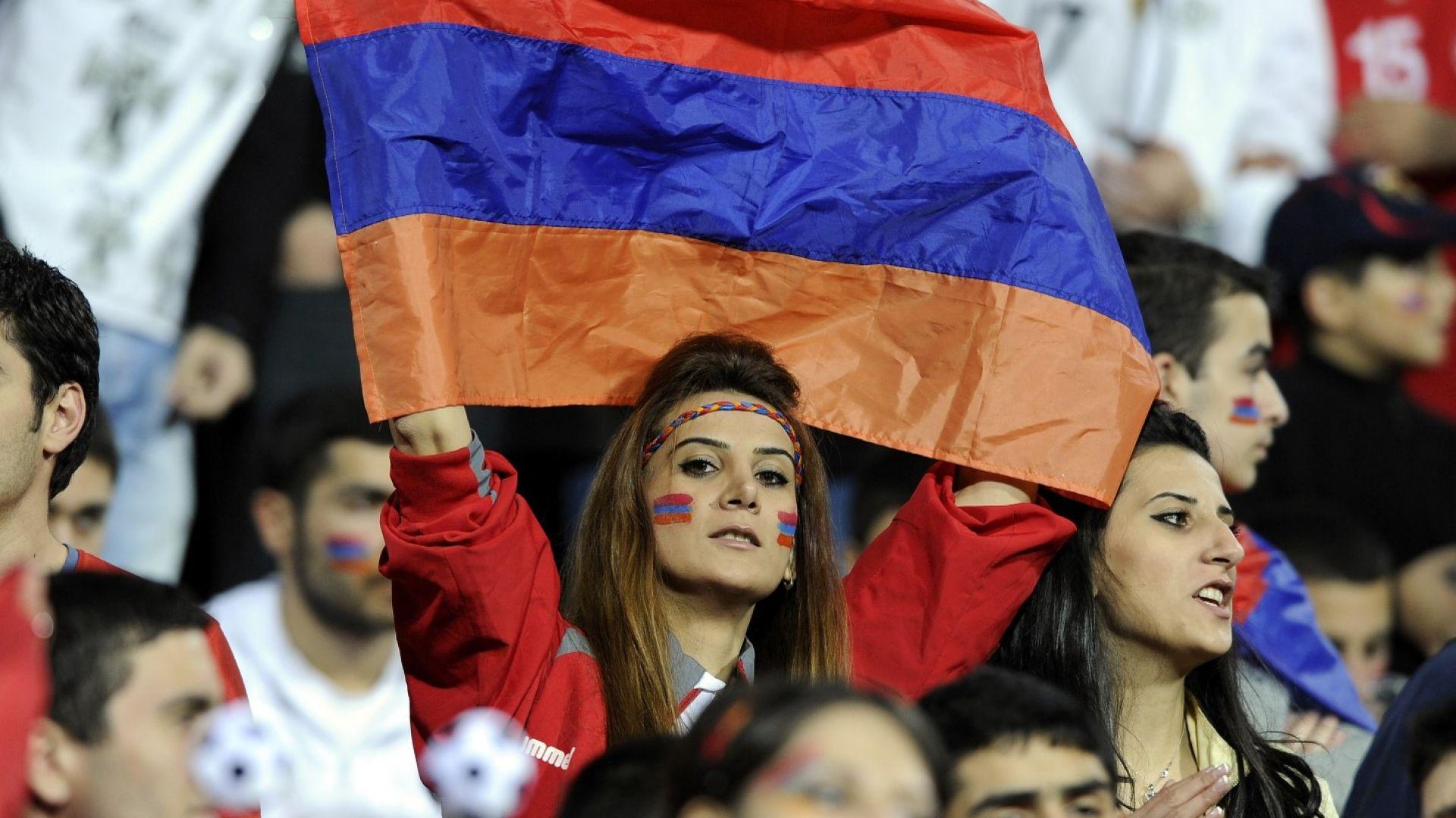 Огромна драма в Ереван! Арменците обърнаха Румъния и вървят с пълен актив към Мондиала