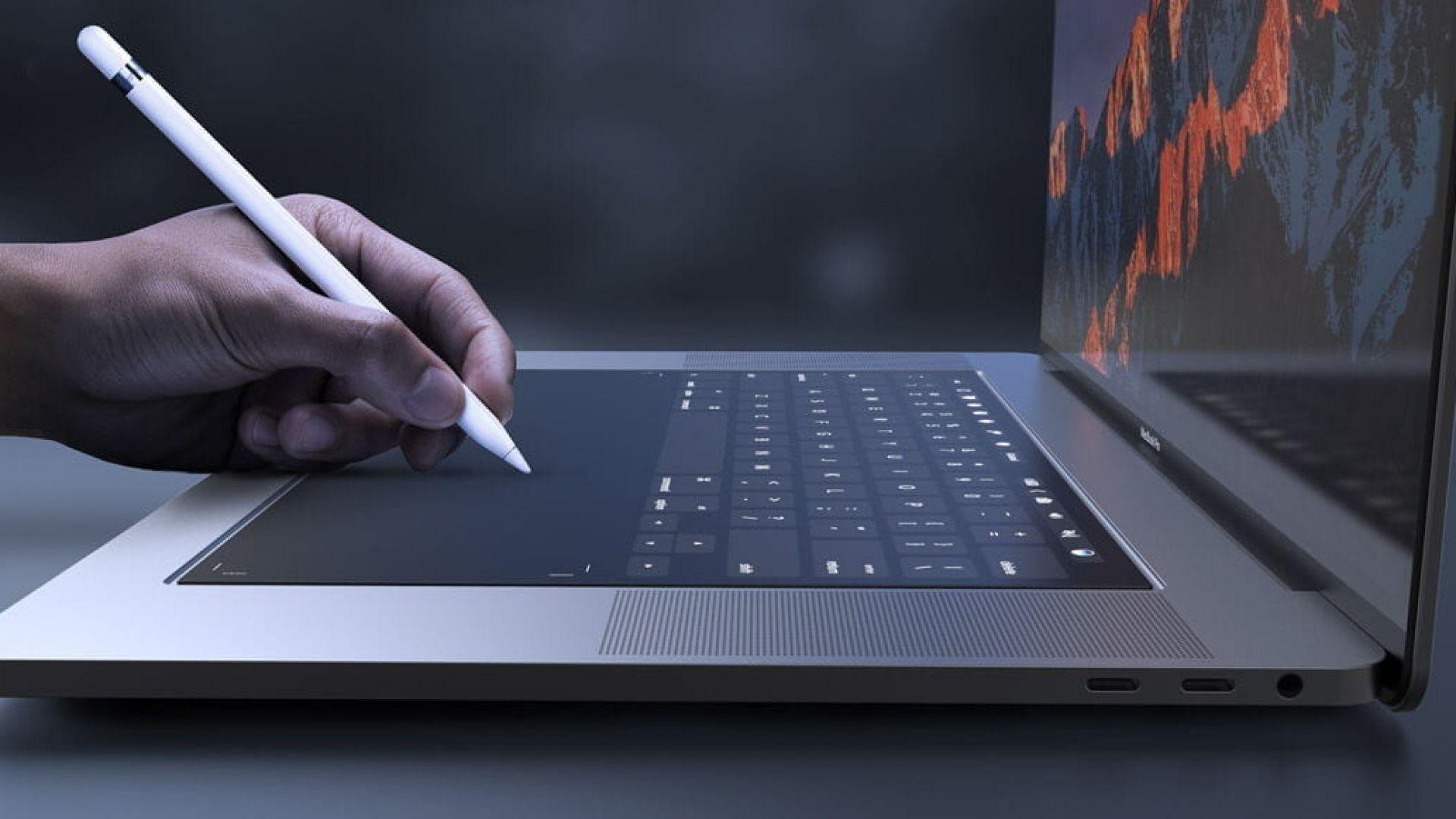Apple готви лаптоп без клавиатура