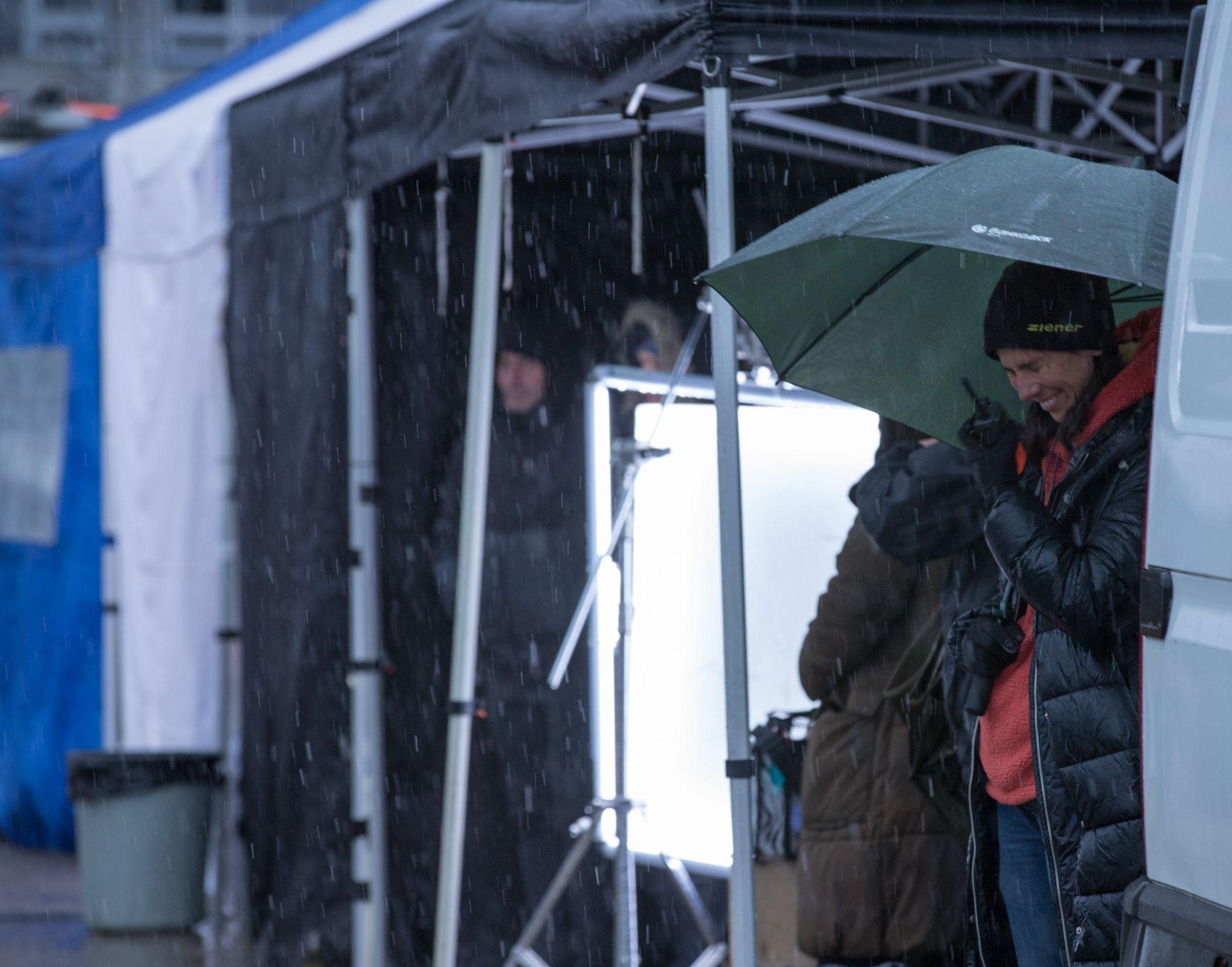 Снимки по време на дъжд