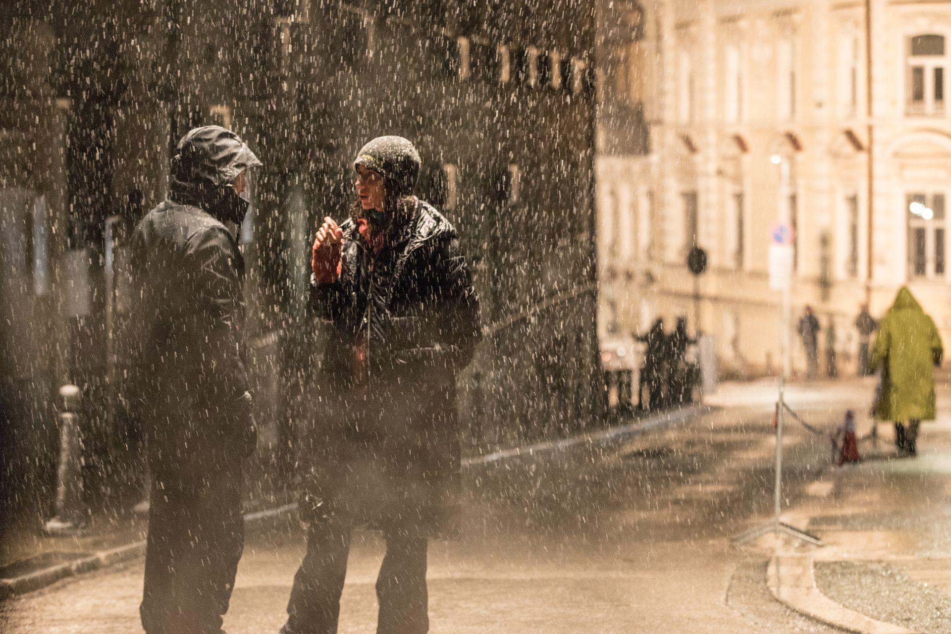 Дъждовни снимки на ул. Париж