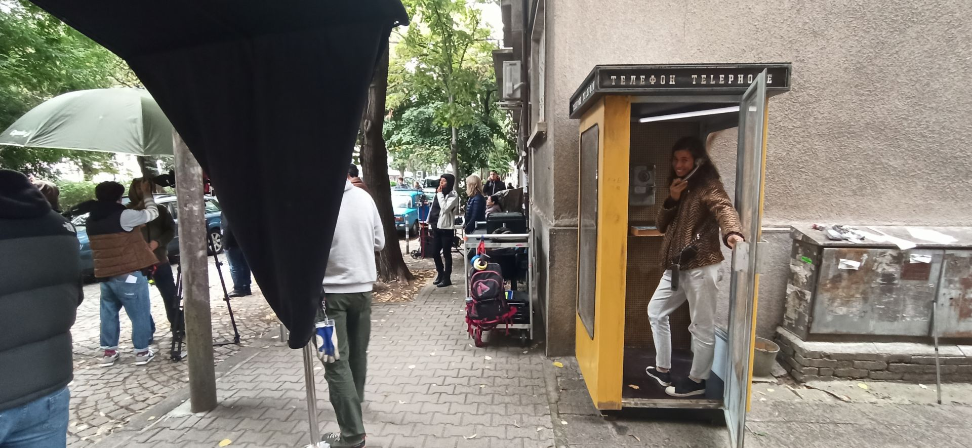 "Снимачна площадка за сериала ""Порталът"""