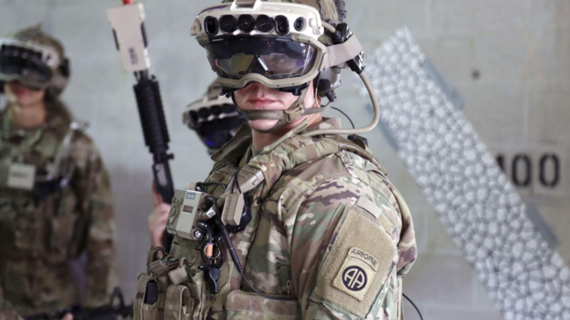 Американската армия поръча каски с добавена реалност за 22 милиарда долара
