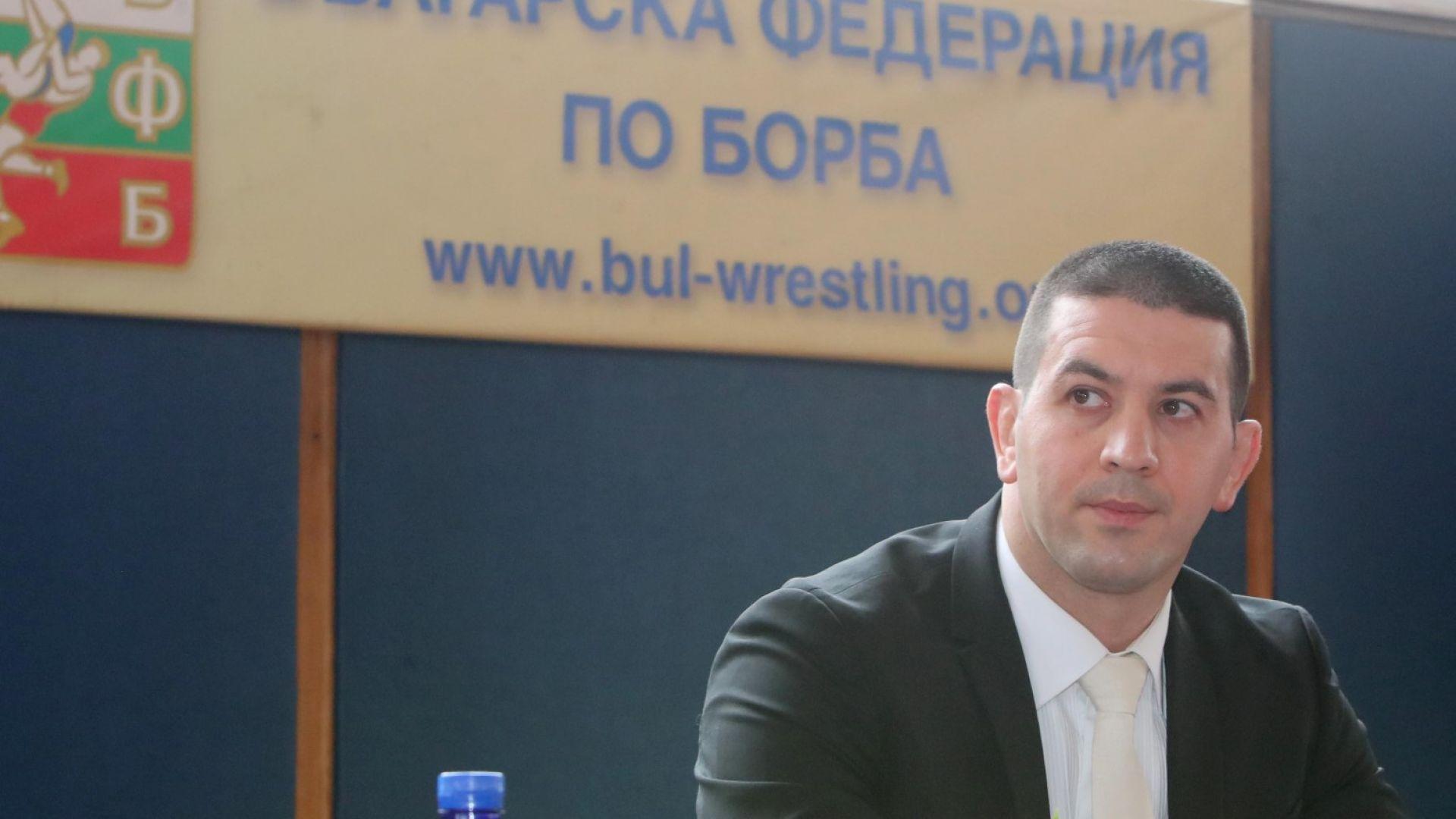Нов 4-годишен мандат за Христо Маринов като президент на българската борба