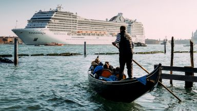 Италия забрани круизните кораби в историческия център на Венеция