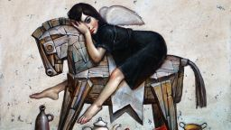 """""""Спасение има"""" от Николай Ангелов-Гари - в Арт Галерия """"Ларго"""""""