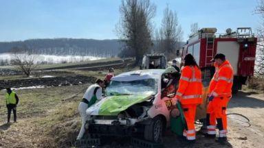 Наш автомобилист е в болница след тежка катастрофа в Румъния