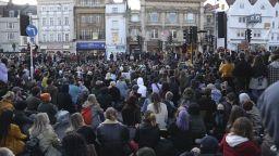 Протести в редица градове в Англия и Уелс