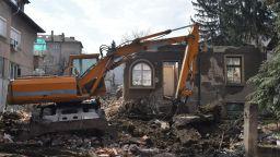 Събориха къщата на Димитър Димов в столицата