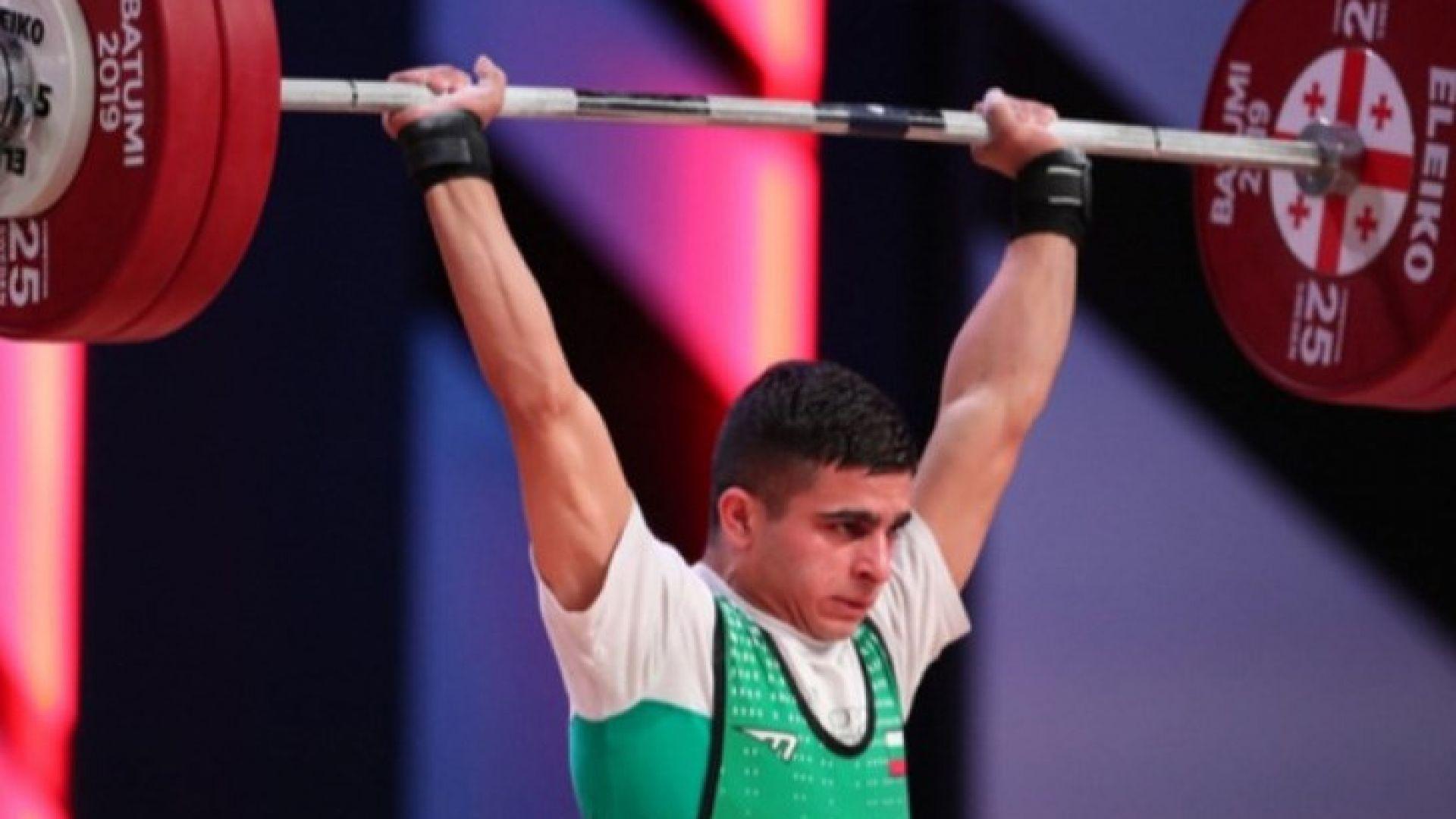 България има още един европейски шампион в щангите