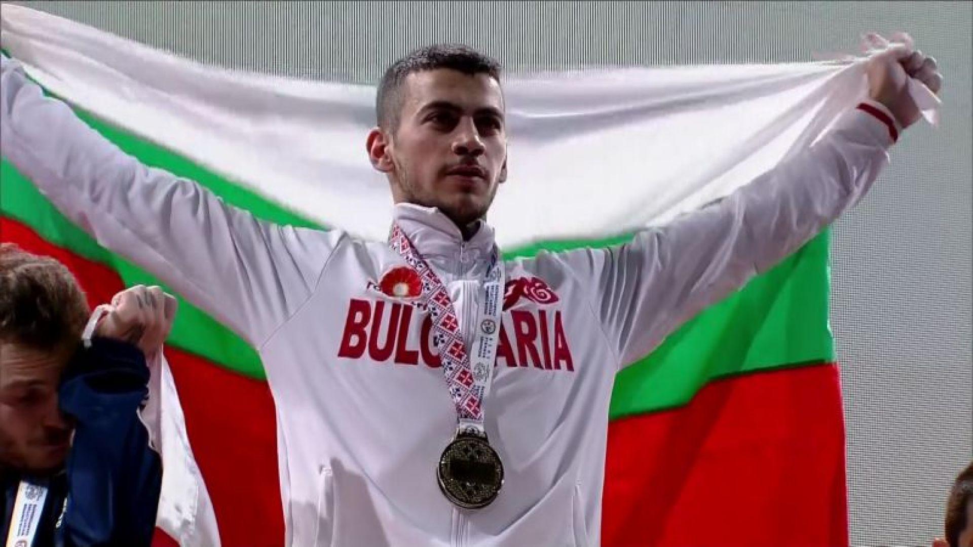 Трето злато за България на Европейското по вдигане на тежести!