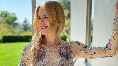 Нежност и стил: Никол Кидман бе сред най-добре облечените звезди на SAG Awards