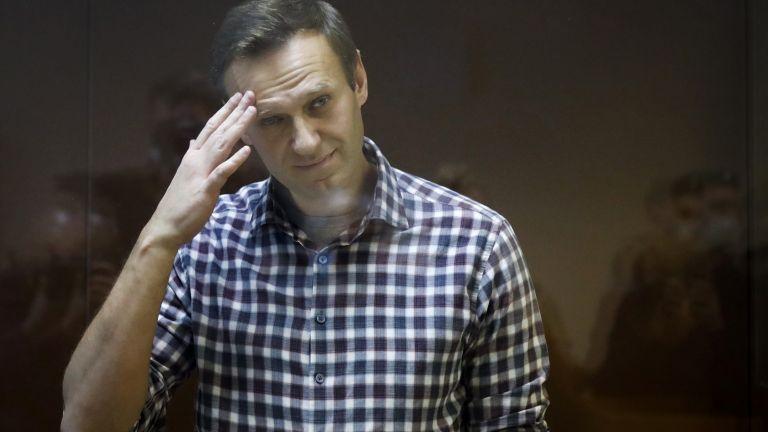 Критикът на Кремъл Алексей Навални, който е в затвора, е