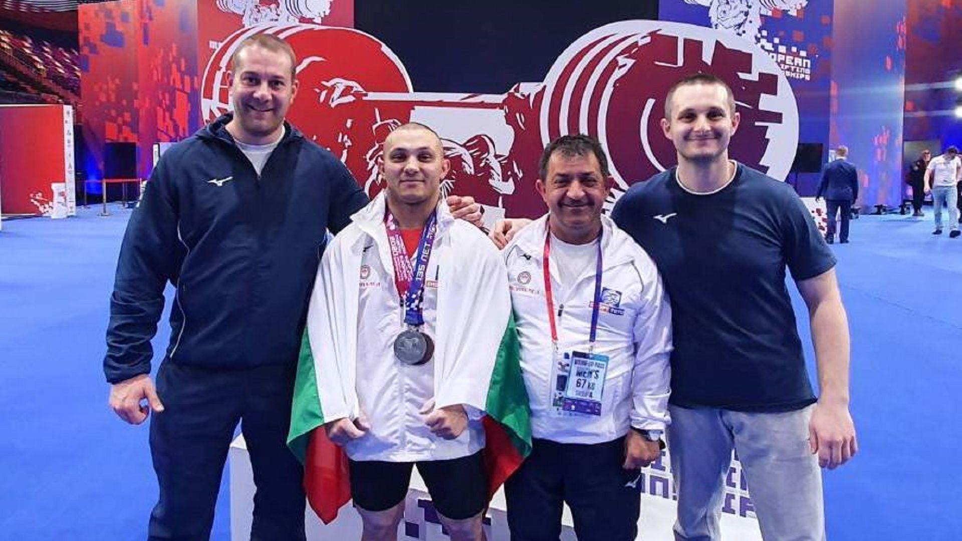 Трети ден България на подиума на Европейското: Щангист дебютант спечели бронз