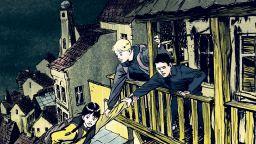 """""""Прашина"""" - митично чудовище се уголемява и заплашва да погълне цяла Прага"""