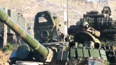 Напрежение между Вашингтон и Москва заради предвижването на руски войски към Украйна