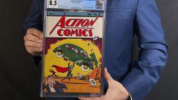 Комикс за Супермен беше продаден за рекордните 3,25 милиона долара