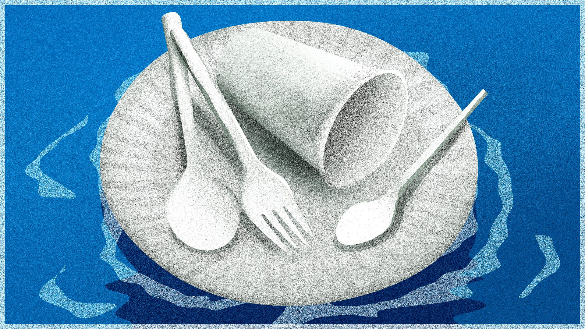 Що е то микропластмаса и как (да не) стига тя до чинията ни