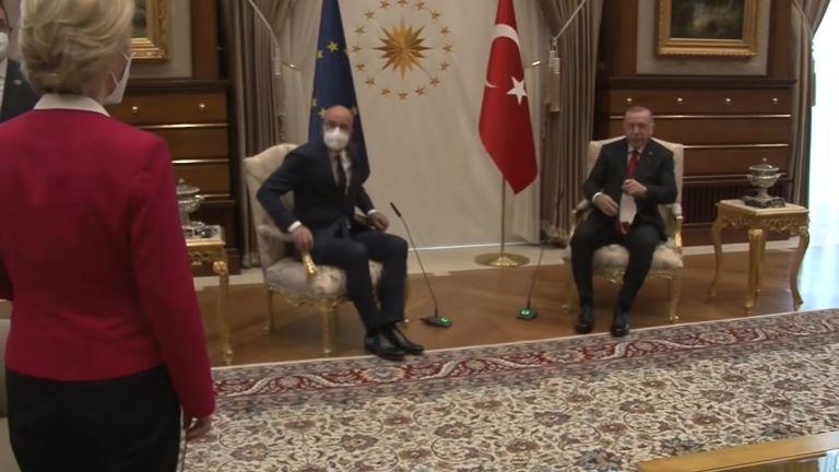 Сексистки скандал гръмна около посещението на председателите на Европейската комисия