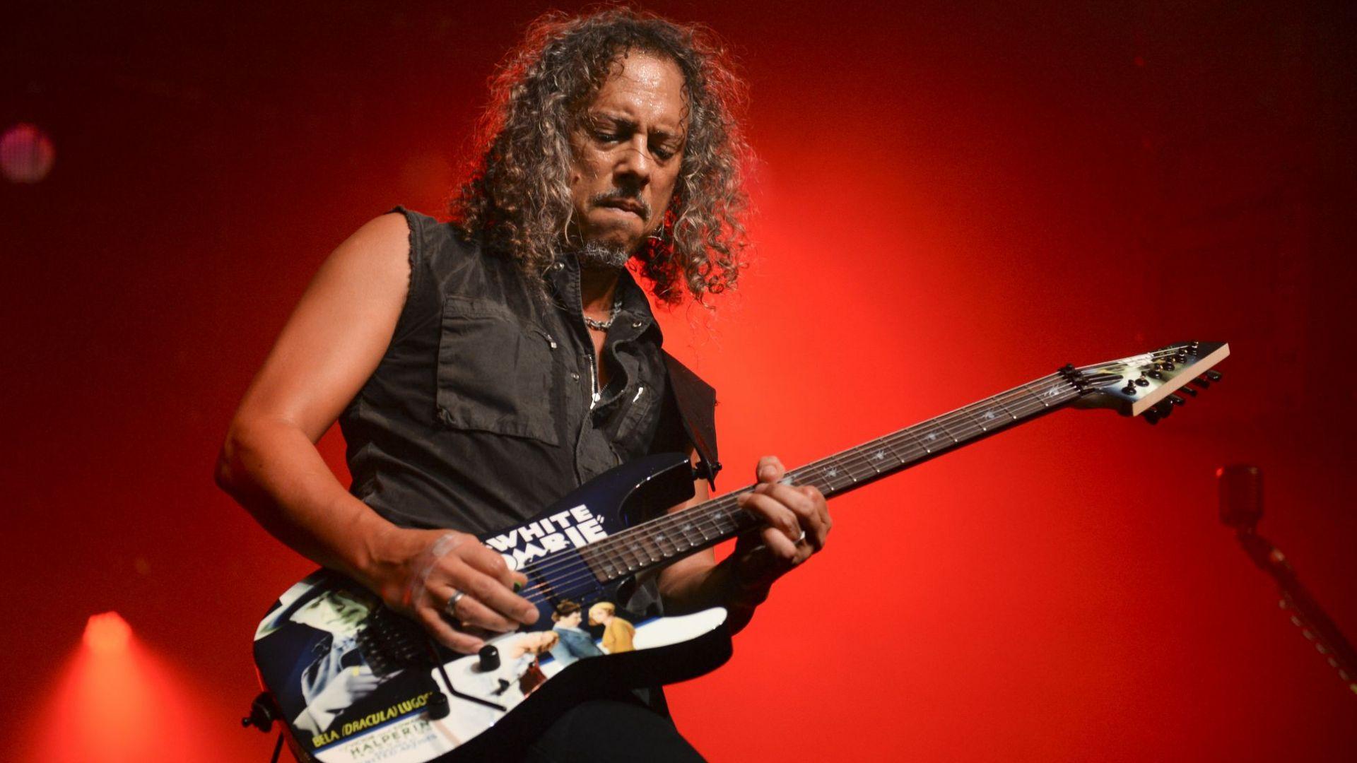 Култова китара на Кърк Хамет от Metallica се продава на търг