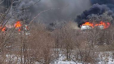 """Единият шофьор от огнения ад на """"Тракия"""" е загинал (снимки и видео)"""