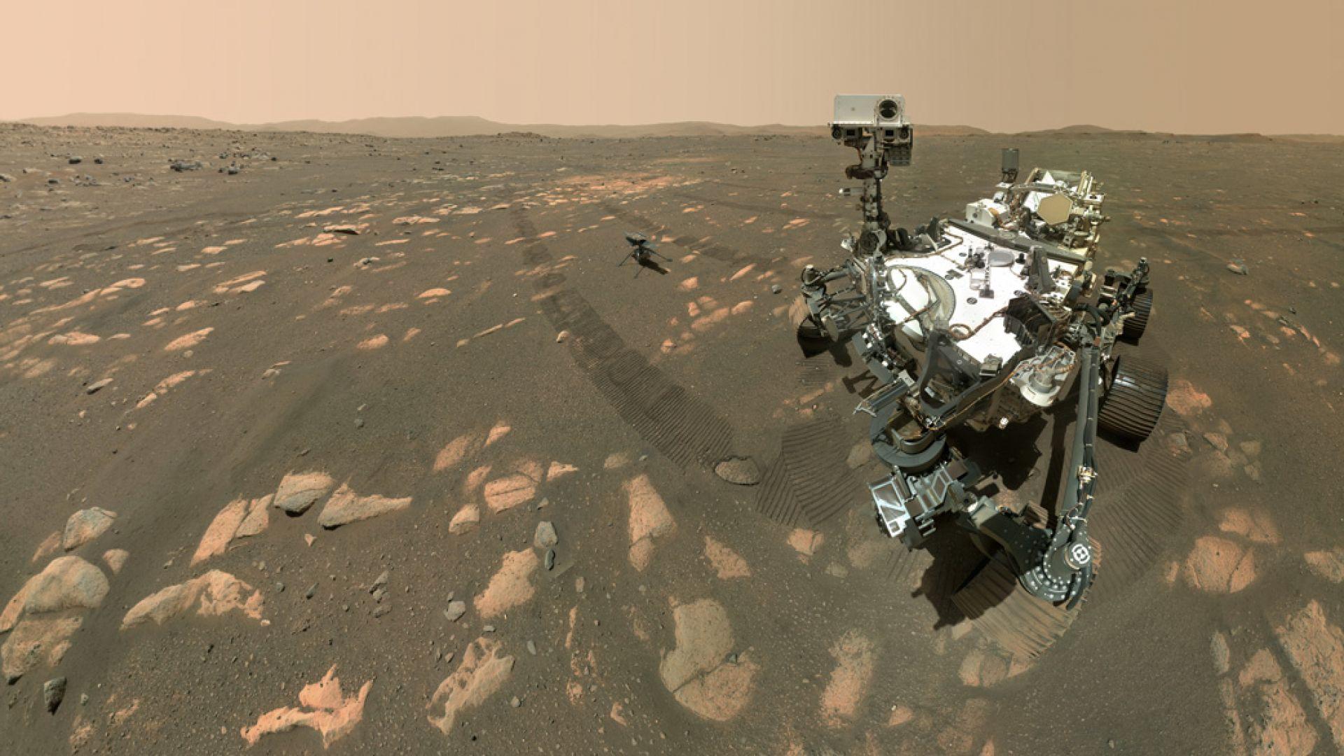 НАСА отложи полета с хеликоптер на Марс заради технически проблем