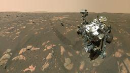 НАСА показа селфи на новия си роувър на Марс