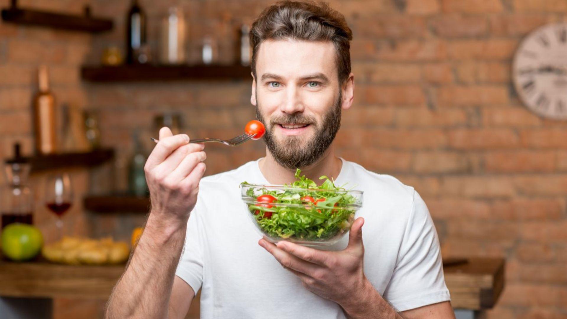 Диетата с малко мазнини не е добра за мъжете: намалява тестостерона