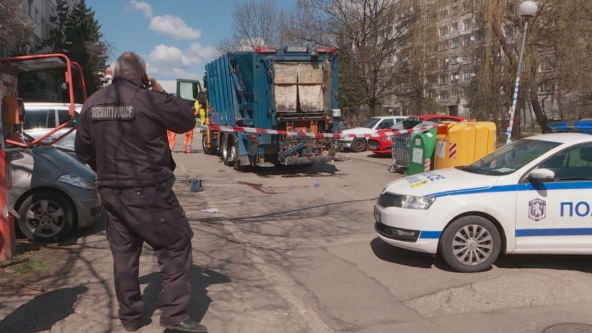 Повдигнаха обвинение на шофьора на боклукчийския камион, убил жена в София