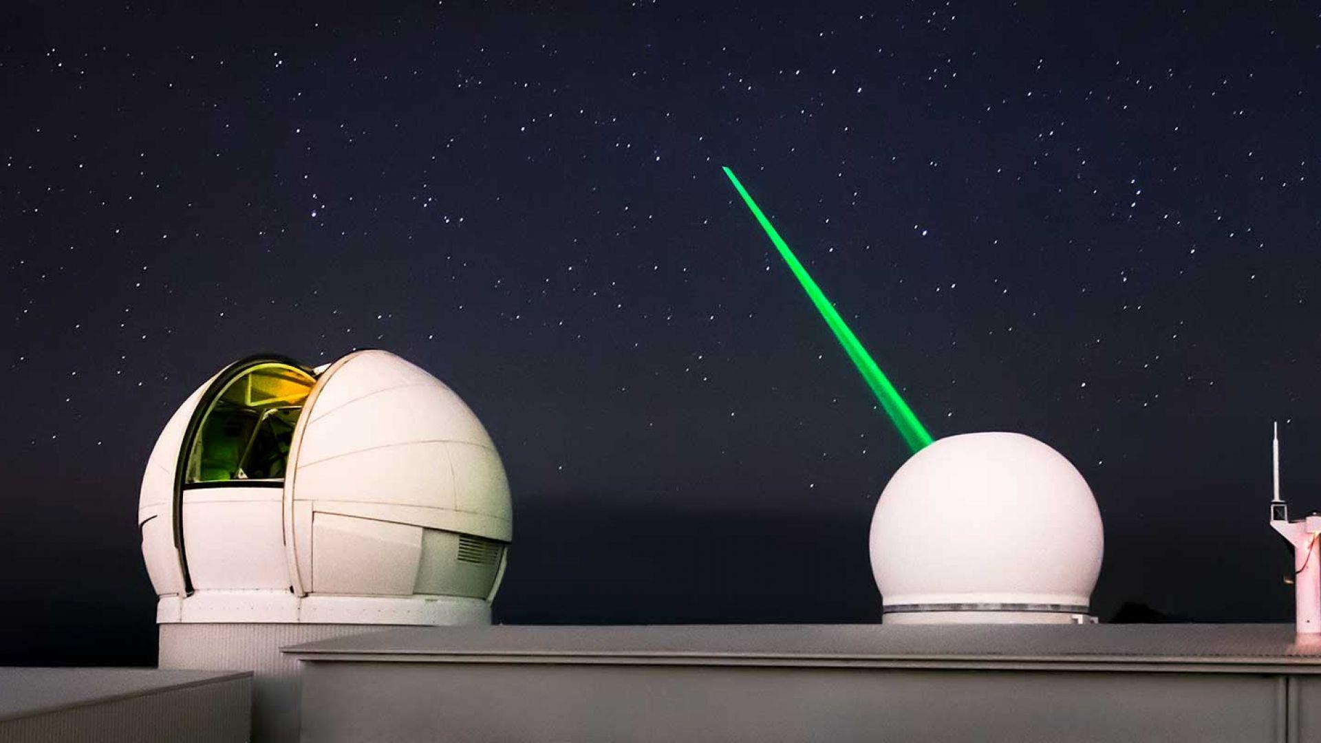 Иновативен лазер може да се справи с космическия боклук от Земята