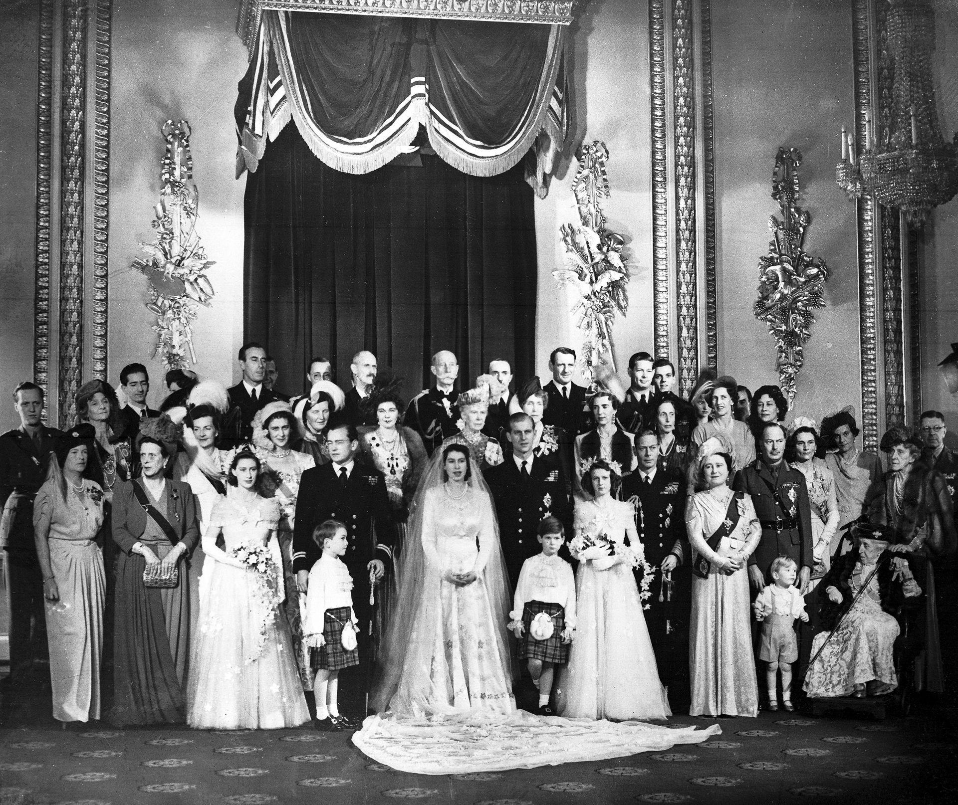 Сватбата на принц Филип и Елизабет втора - 20 ноември 1947 г.
