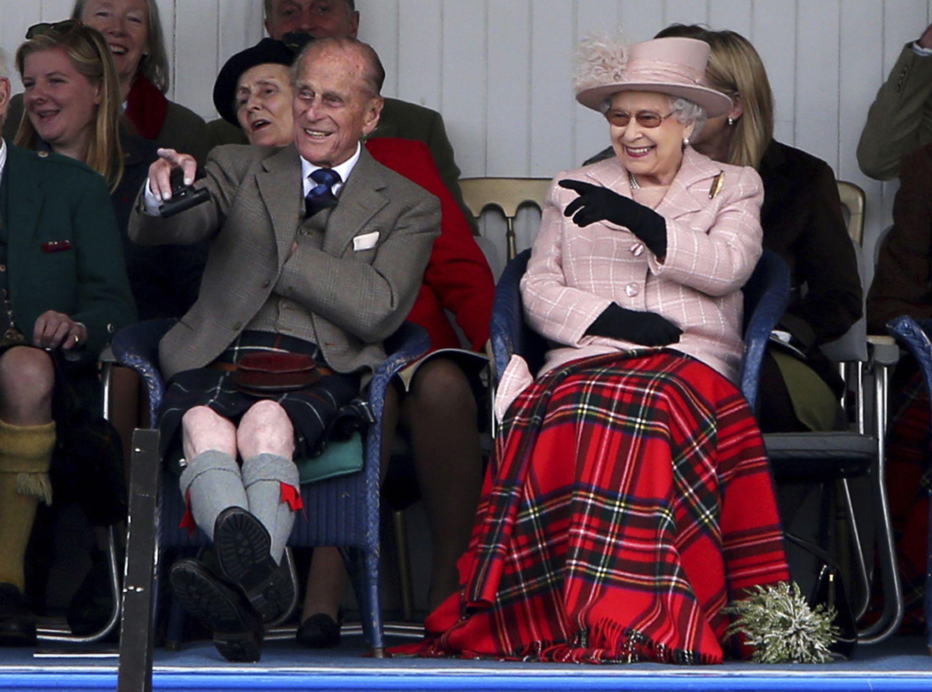 кралица Елизабет и принц Филип