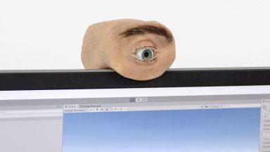 Уеб-камера имитира движенията на човешкото око