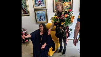 Covid-19 погуби и майката на бременната Лора – художничката Лидия Кунева