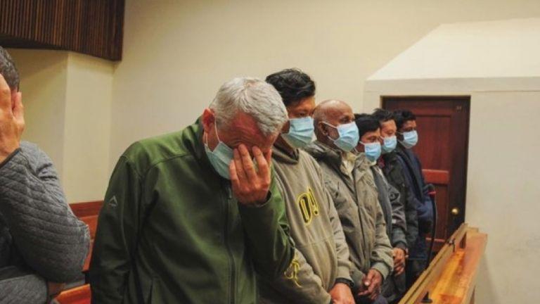 Българи, задържани при акция по залавянето на близо тон кокаин