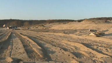 """Има ли разрушени дюни край плаж """"Смокиня""""?"""