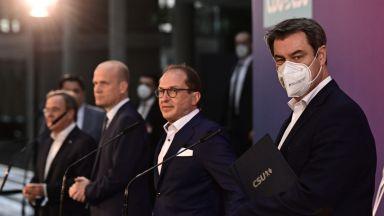 Консервативната десница в Германия има двама кандидати за канцлер