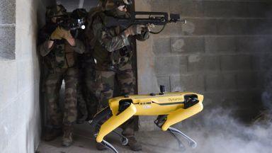 Френската армия тества роботи
